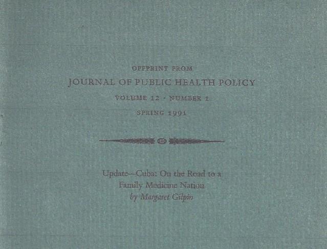 Journal Public Health in Cuba