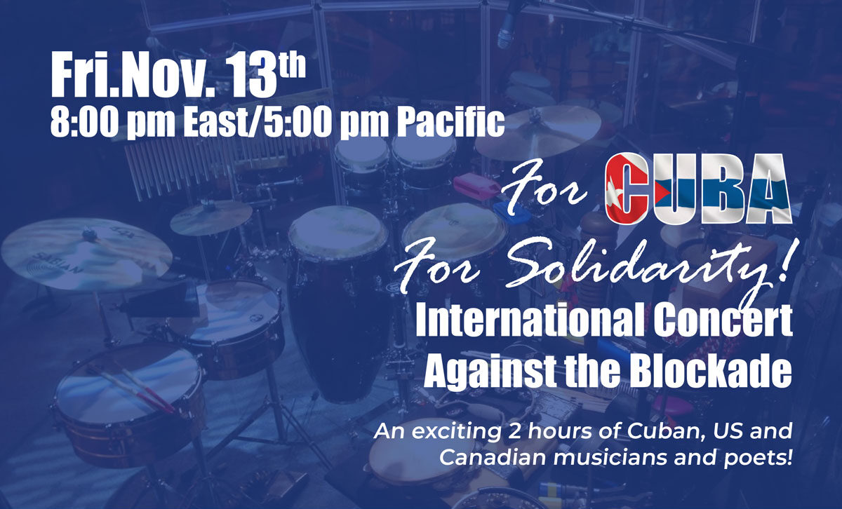 International Concert Against the Blockade