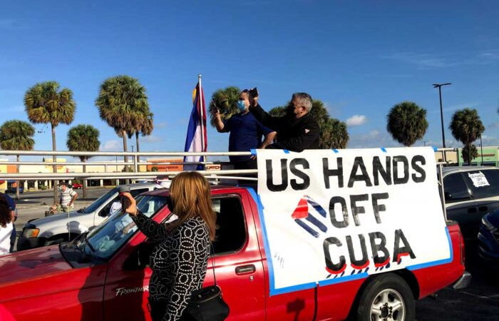 January 31, 2021 Miami Caravan Against the Blockade