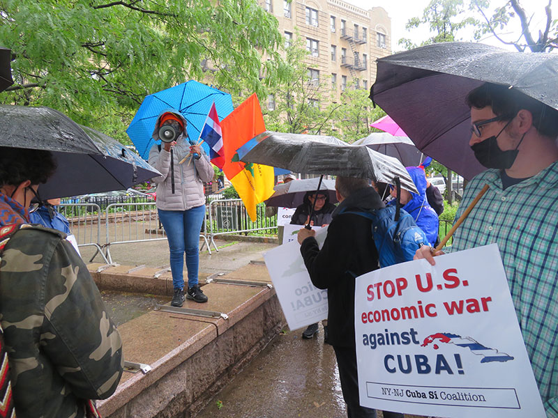 Protest, Rally, Car Caravan, and Sailing in Solidarity to End the Illegal Blockade