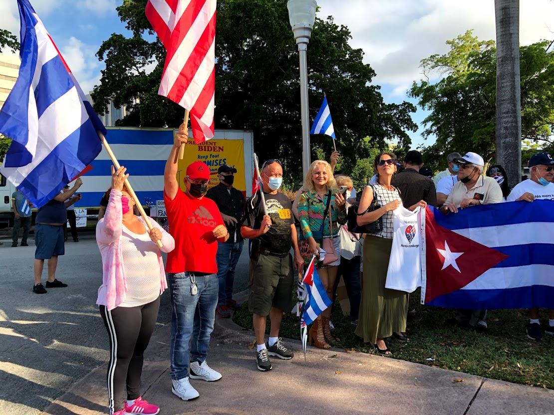 2021 Miami Caravan Against the Blockade of Cuba