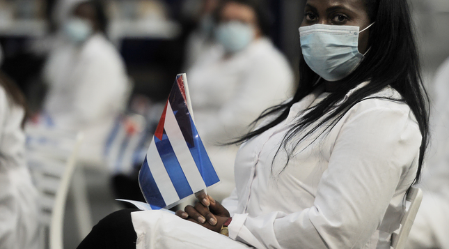 Cuban doctors brought to SA to fight pandemic 'trafficked', says US State Dept