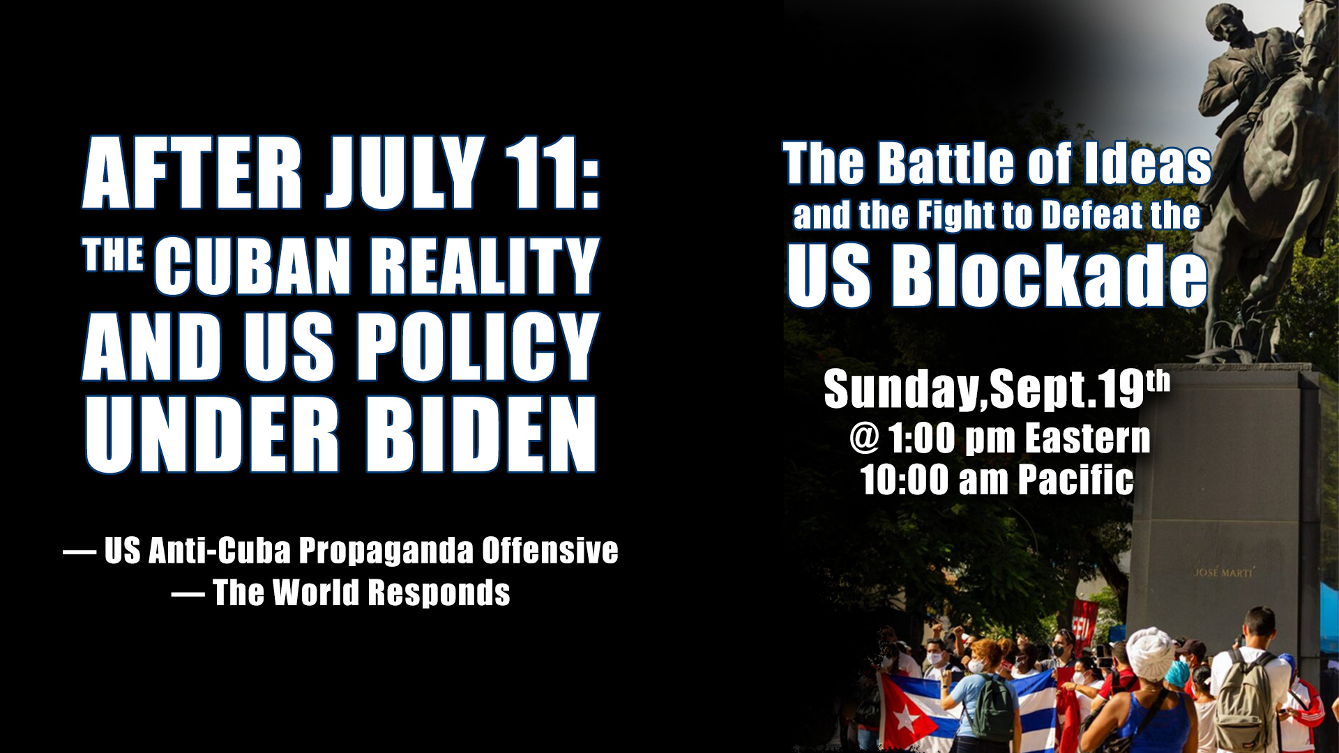 After July 11: The Cuban Reality and US Policy Under Biden